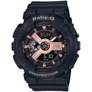 G-Shock BA110RG Baby-G Rose Gold Black watch BNIB